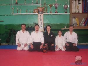 Учебно-тренировочные занятия в секции города Кропоткина 22-23 февраля 2013г.