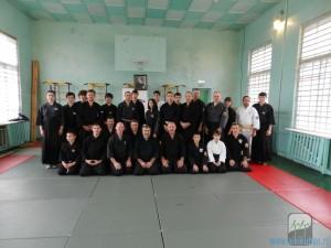 Семинар по Айкидзюдзюцу под руководством В.А.Скрылёва 17-19 октября 2014 года в г.Пятигорске.