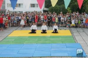 """Показательные выступления и мастер-класс в ДОК """"Морская звезда"""" 16 июля 2016 года"""