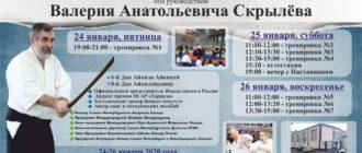 Межрегиональный семинар айкидо. Январь 2020 года.